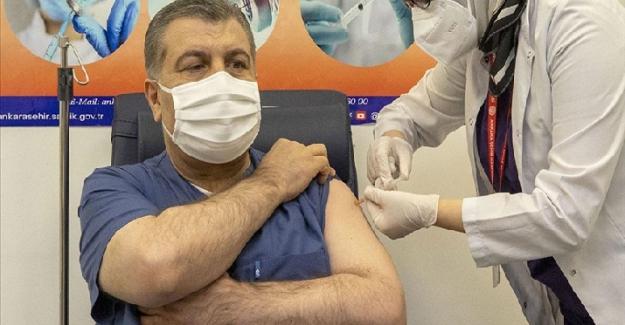 Türkiye'de aşı çalışmalarının ilk günü: Bakanlık sayıyı açıkladı