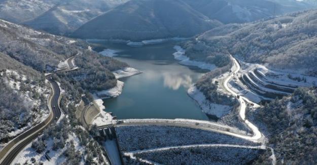 Yüreğimize kar serpildi: Kar yağışıyla birlikte barajlarda su rezervi 115 güne ulaştı