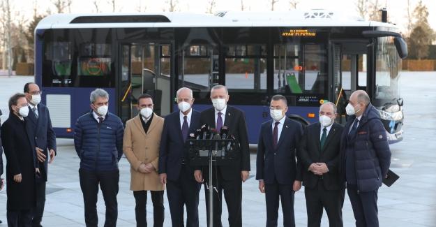 Avrupa ve Amerika'nın ilk sürücüsüz elektrikli otobüsü Bursa'dan