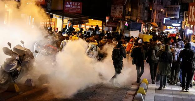 Kadıköy'deki eylemde gözaltına alınan 2 kişi hakkında tutuklama kararı