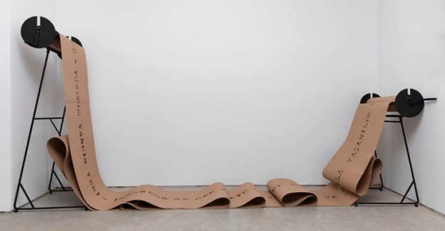 Leyla Emadi'nin kişisel sergisi: Gel-Git