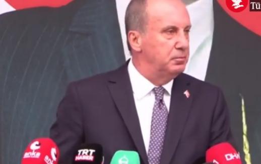 """Muharrem İnce CHP'den istifa etti: """"Türkiye'yi bu iktidardan da bu muhalefetten de kurtaracağız"""""""