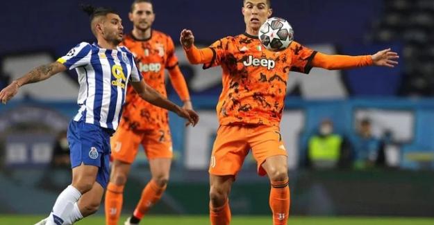 UEFA Şampiyonlar Ligi'nde Porto, Juventus'u 2-1 mağlup etti