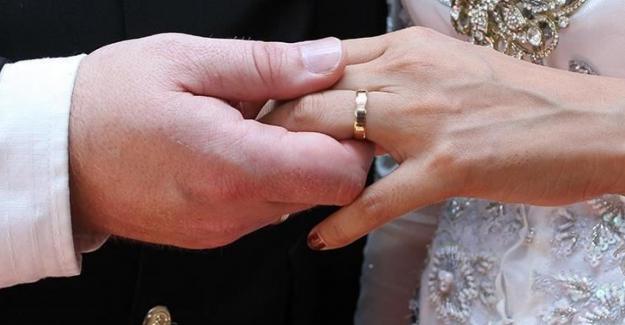 TÜİK: 2020 yılında Kovid-19'un da etkisiyle evlenme ve boşanmalar azaldı