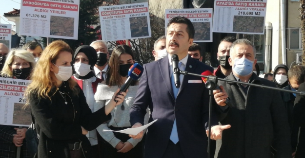 """Yenişehir Belediyesi'nde neler oluyor? """"Yenişehir Satışa Geldi"""""""