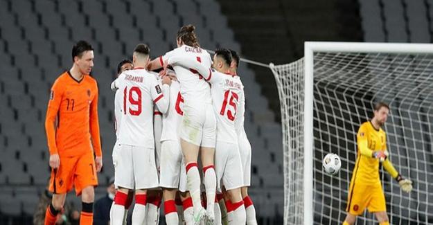 A Milli Takımımız, dünya devi Hollanda'yı 4 gol ile perişan etti