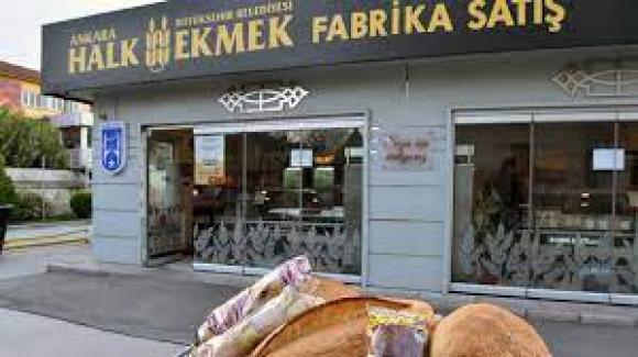 Ankara Büyükşehir Belediyesi Halk Ekmek Fabrikası Bayilikler veriyor