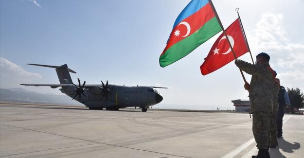Azerbeycan Silahlı Kuvvetleri Mensubu Askerler Komando Eğitimi İçin Isparta'ya Geldi