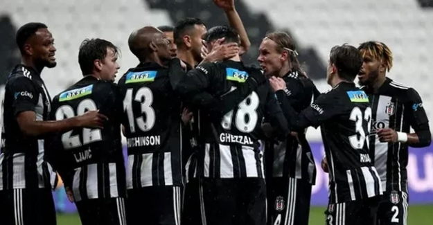Beşiktaş, Gaziantep karşısında 2-1 galibiyetle Liderliğe yükseldi