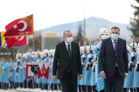 Bosna Devlet Başkanlığı Konseyi Üyeleri Türkiye'de