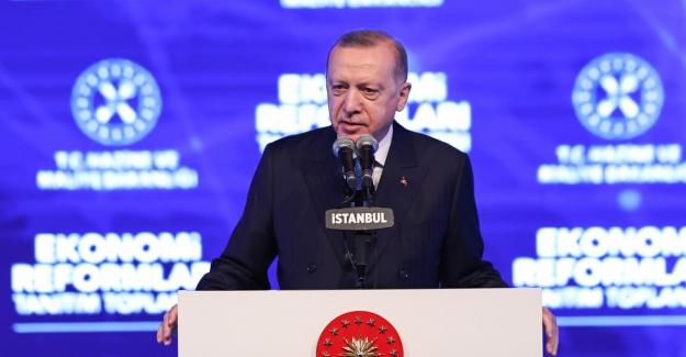 """Cumhurbaşkanı Erdoğan: """"Reformlarımızın özünde; yatırım, üretim, istihdam ve ihracat temelinde ekonomik büyüme bulunuyor"""""""