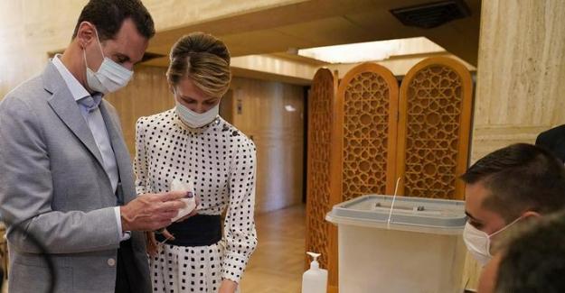 Esad çifti koronavirüse yakalandı