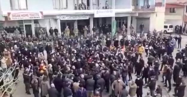 Hataylılar da madene karşı protestoyla ayağa kalktı