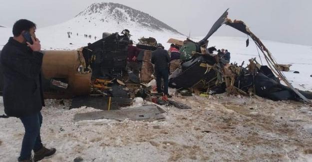 Helikopter kazasındaki Şehit sayımız 11'e yükseldi
