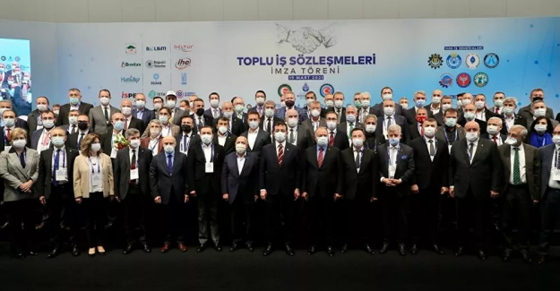 İstanbul Büyükşehir Belediyesi'nde toplu iş sözleşmesi imzalandı