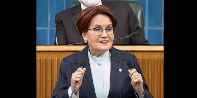 """Meral Akşener: """"Seni Allah'a şikayet ediyorum sayın Erdoğan. Ölüm olsa da sonunda mücadele etmezsem namerdim"""""""