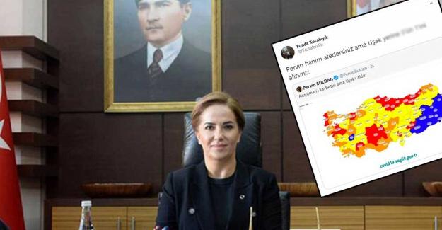 Pervin Buldan'a hakaret tweeti sonrası Uşak Valisi'nden açıklama