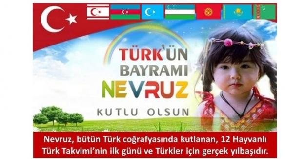 TÜRK'ÜN BAYRAMI NEVRUZ KUTLU OLSUN!..