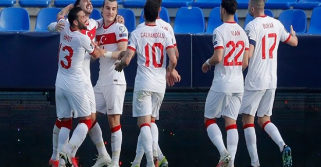 Türkiye'nin Letonya karşısındaki ilk 11'i belli oldu