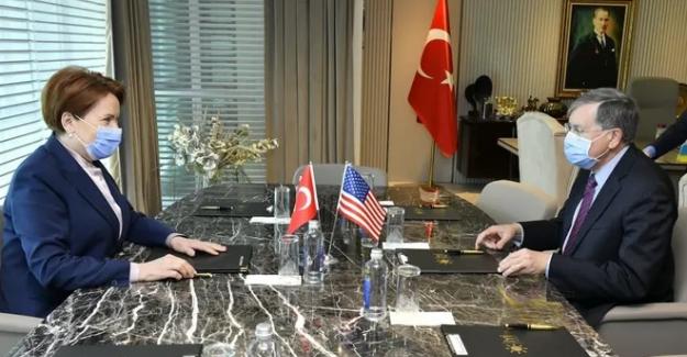 ABD Büyükelçisi Satterfield'den Akşener'e ziyaret