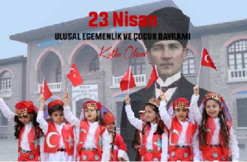 """Bursa Valisi Yakup Canbolat: """"23 Nisan Ulusal Egemenlik ve Çocuk Bayramı'nı kutluyor, sağlık, mutluluk ve başarılar temenni ediyorum"""""""