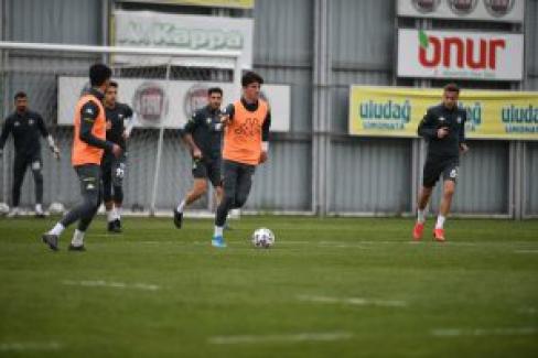 Bursaspor Bandırma maçına hazırlıkları başlattı