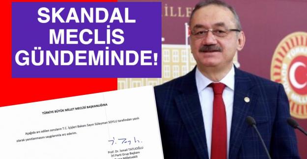 Prof. Dr. İsmail Tatlıoğlu, Bursa Büyükşehir Belediyesi'ndeki 'İnsan Kaçakçılığı' skandalını TBMM'ye taşıdı.