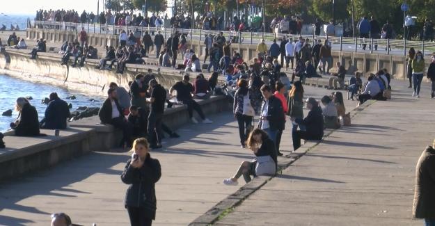 Sahiller ve parklar vatandaşlara kapatıldı