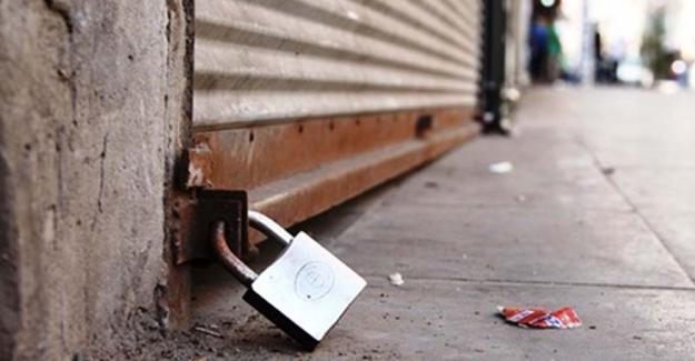 Son 14 ayda 124 bin 910 esnaf kepenk kapattı