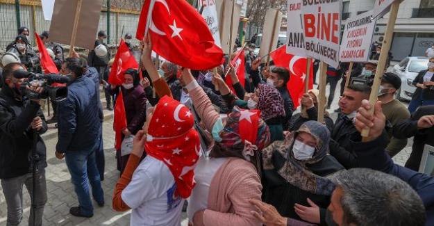 Van'da HDP protestosu