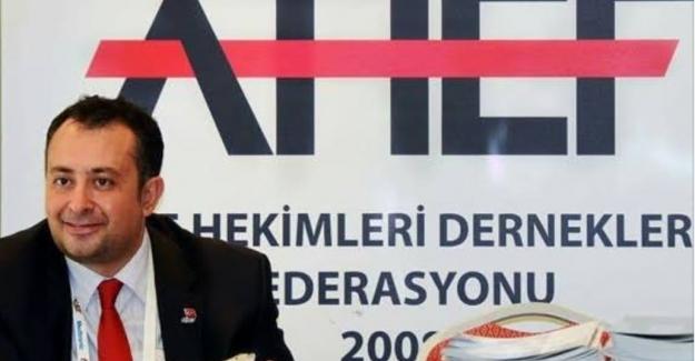 """AHEF 2. Başkanı Dr. Eryazğan: """"14 aydır yapılan ek ödeme kapsamına Aile Hekimleri de alınmalıdır"""""""