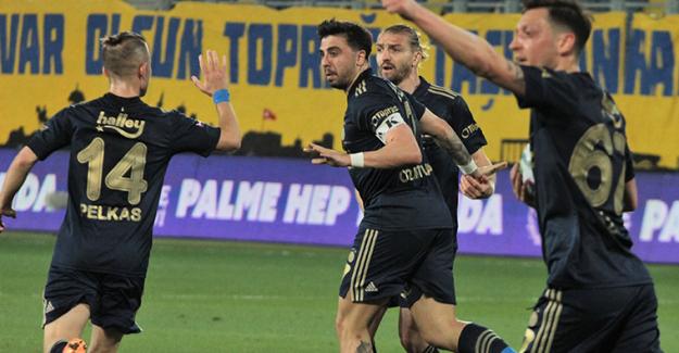 Ankaragücü 1-2 Fenerbahçe