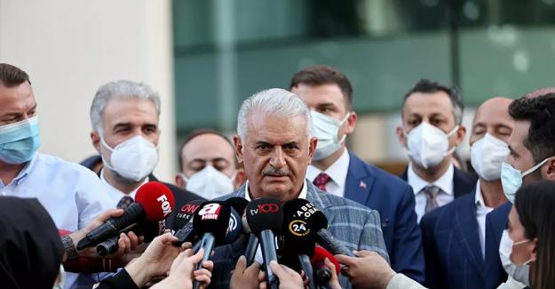 """Binali Yıldırım: """"Sedat Peker'in iddiaları kesinlikle iftiradır, yalandır, şiddetle reddediyoruz"""""""