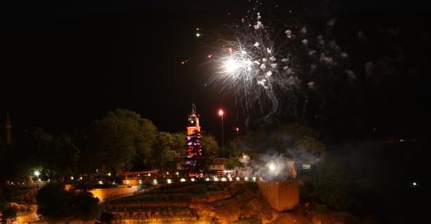 Bursa'nın 19 Mayıs Kutlama Proğramı havai fişeklerle tamamlandı