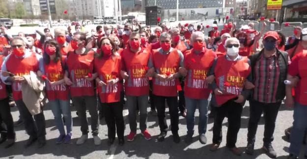 """DİSK Başkanı Arzu Çerkezoğlu, """"1 Mayıs Emek ve Dayanışma Gününü Taksim'de kutlamak haktır"""""""