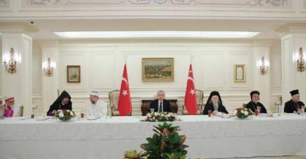 Erdoğan azınlık cemaati temsilcileriyle iftarda buluştu