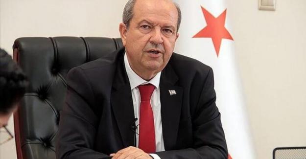 Ersin Tatar: Kıbrıs Türk halkı, azınlık olmaya zorlanmaktadır