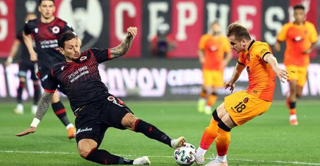 Galatasaray Ankara'dan 3 puanı hak ederek döndü