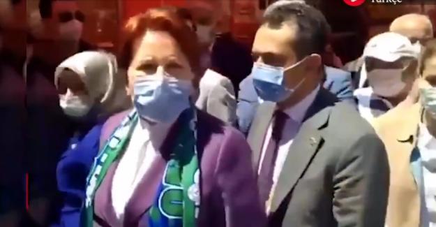 Meral Akşener'e Rize ziyaretinde saldırı