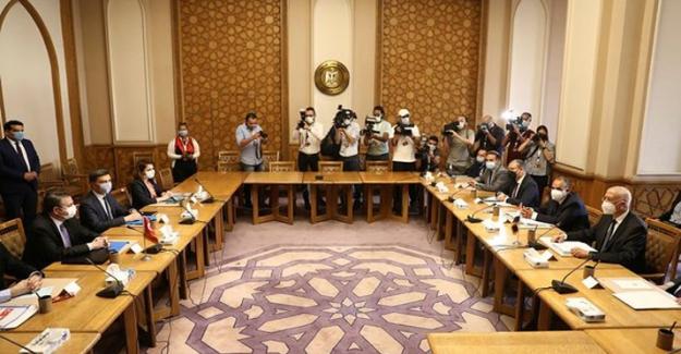 """Mısır Dışişleri Bakanlığı duyurdu: """"Türk Heyeti ile görüşme başladı"""""""