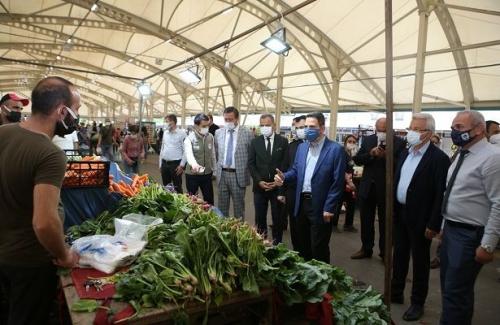 Nilüfer'de pazarlara sıkı denetim