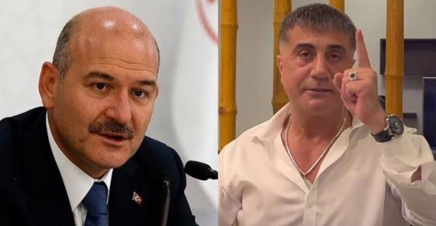 """Soylu, Sedat Peker hakkında """"hakaret ve iftira"""" gerekçesiyle suç duyurusunda bulundu"""