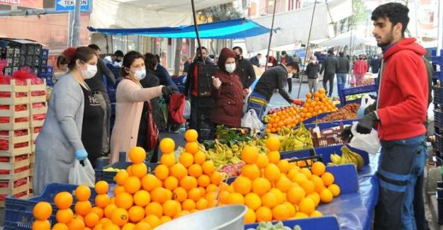 TÜİK verilerine göre, Nisan ayında yıllık enflasyon yüzde 17,14'e yükseldi