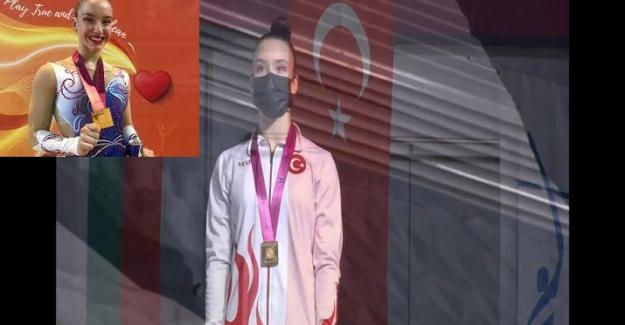 Türkiye'nin aerobik cimnastik tarihinin büyükler kategorisinde bir ilk! Bakü'de tarihi zafer