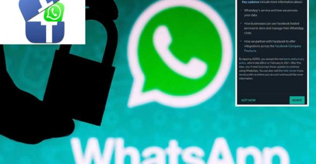 Whatsapp'tan yeni açıklama! Sözleşmeyi kabul etmeyen hesapların işlevselliği azaltılacak