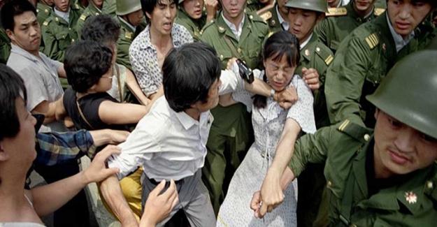 32. yıldönümünde Çin'in Tiananmen Katliamı