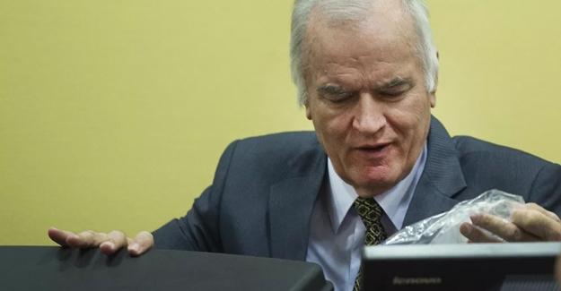 Bosna-Hersek Soykırımcısı Sırp Liderlerden Ratko Mladic'in müebbet hapis cezası onandı