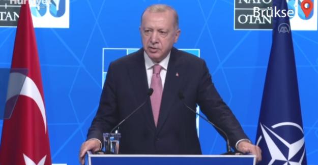 Cumhurbaşkanı Erdoğan'dan Biden görüşmesi sonrası ilk açıklama!