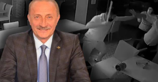 Didim Belediye Başkanı Deniz Atabay'a saldırının görüntüleri