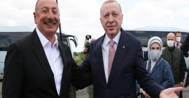 Erdoğan, İlham Aliyev ile birlikte Suşa'da